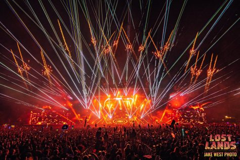 A shot of a show at Lost Lands Festival.