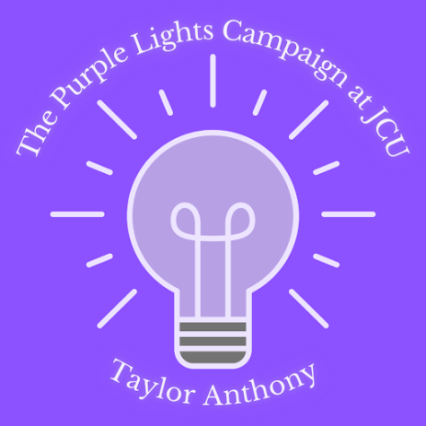 Purple lights campaign for domestic violence awareness comes to campus
